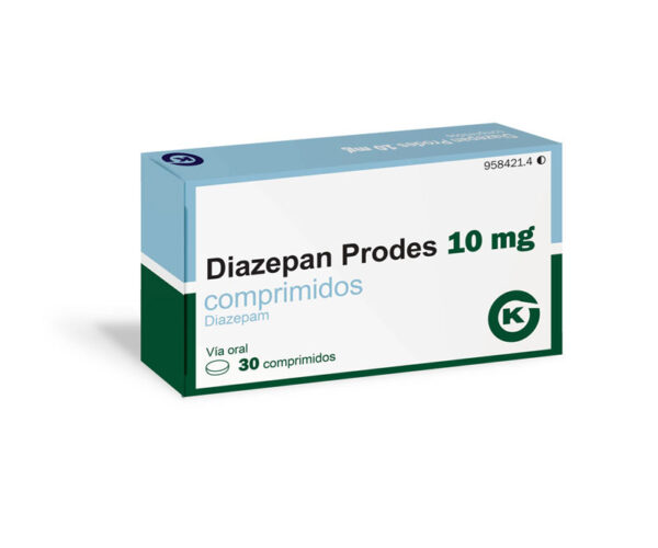 Prodes Diazepam 10mg Tablets