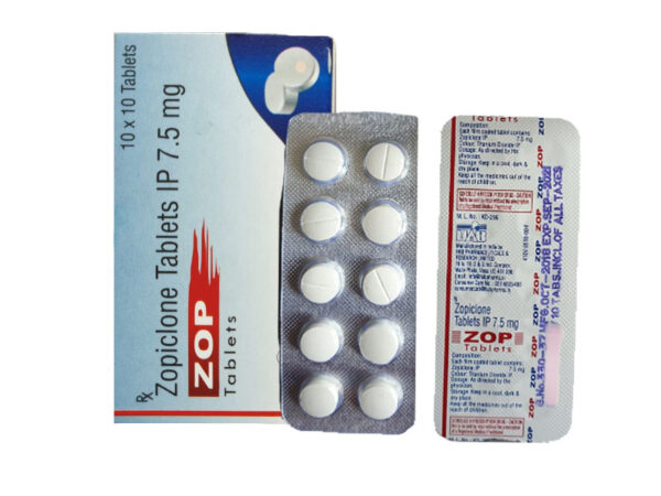 Zopiclone Tablets (White)